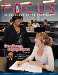 FOCUS Spring 2009.qxd - University Relations - Columbus State ...