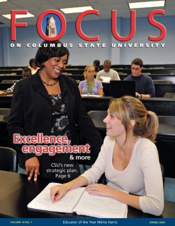 FOCUS Spring 2009.qxd - University Relations - Columbus State ...