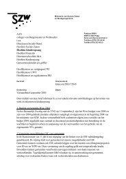 AAN colleges van Burgemeester en Wethouders i.a.a. Directeuren ...