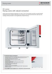 ED series: Drying ovens with natural convection - Labo Baza