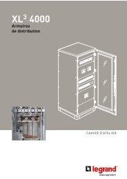 Cahier d'atelier XL3 4000 - Legrand