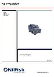 CR 1700 D/G/P