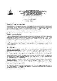 republica del ecuador instituto nacional de meteorologia e ...