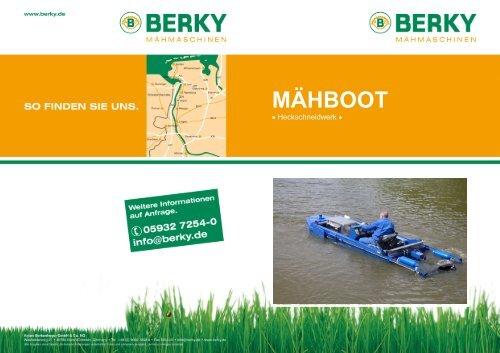 6130 Maehboot + Heckschneidwerk - D - Special Maskiner A/S