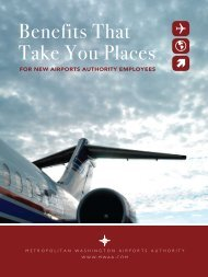 Benefits That Take You Places - Metropolitan Washington Airports ...