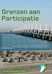 Flyer Grenzen aan Participatie - Leven met Water Kennisopbrengsten