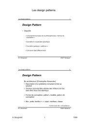 Design Pattern - Service d'echange de Donnees de l'ENST Bretagne