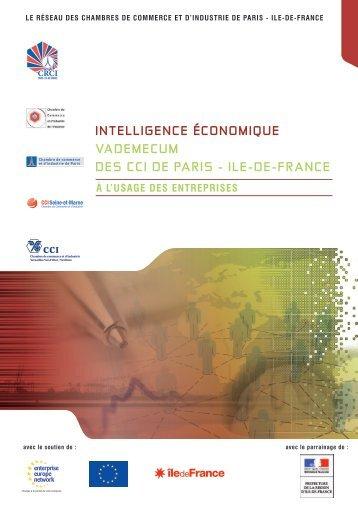 INTELLIGENCE ÉCONOMIQUE VADEMECUM DES CCI DE PARIS ...