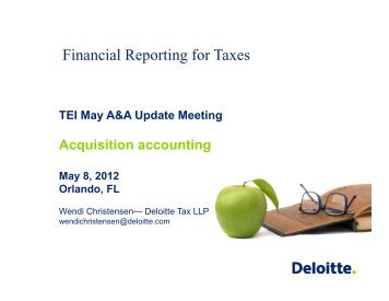 Deloitte FAS 141R-Acquisition Accounting