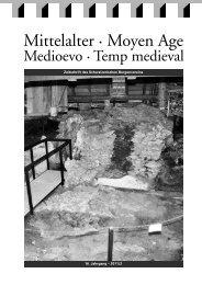 16. Jahrgang – 2011/2 Zeitschrift des Schweizerischen Burgenvereins