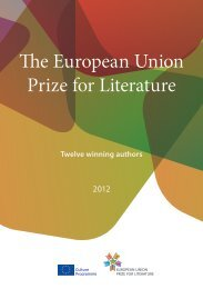 The European Union Prize for Literature