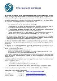 Formulaire Labels décret 2011 - Agence régionale du livre