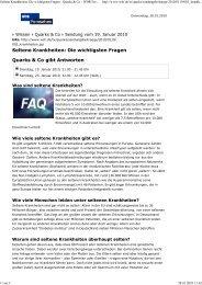 Seltene Krankheiten - HSP-Selbsthilfegruppe Deutschland EV