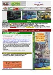 Línea Urbana de Vilafranca del Penedés - Empresas Autobuses ...