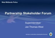Addressing Crime - Wolverhampton Partnership