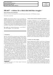 HR 4657 – evidence for a thick-disk field blue straggler - Universitäts ...