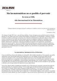 Sin las matemáticas no es posible el porvenir. Alfredo Camelo Bogotá