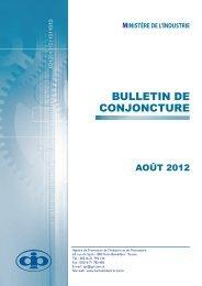 BULLETIN Conjoncture Aout 2012 (API) - CAIPE