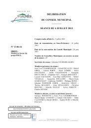 Motion en faveur du projet POCL - Site officiel - Mairie de Saint ...