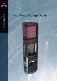 Les mer om Jøtul Heat Storage System her (pdf)