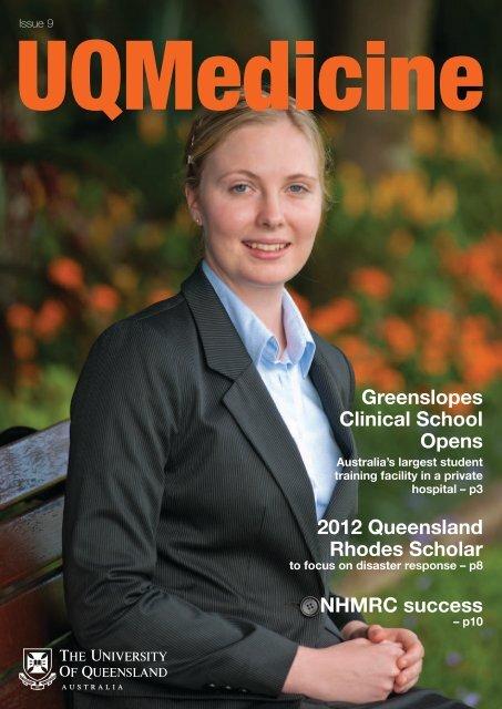 UQMedicine Magazine Issue 9 - School of Medicine - University of ...