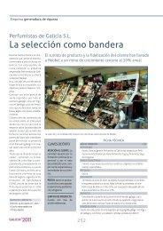 PERFUMISTAS DE GALICIA, S.L. : Empresa Generadora ... - Ardan