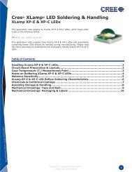 XLamp MC-E LED Soldering and Handling - LEDS.de
