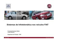 Sistema de Navegação - AEA – Associação Brasileira de ...