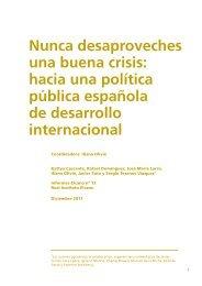 Nunca desaproveches una buena crisis - Real Instituto Elcano
