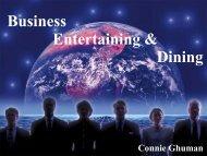 Business Entertaining & Dining - NBAA