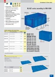 RL-KLT series according to VDA 4500 - SSI SCHAEFER