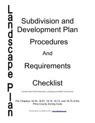 Subdivision and Development Plan Procedures Requirements ...