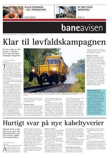 baneavisen Klaus Bergman - Banedanmark