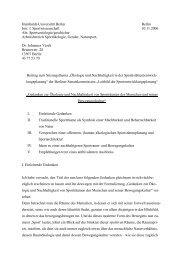 Humboldt-Universität Berlin Berlin Inst. f. Sportwissenschaft ... - kopofo
