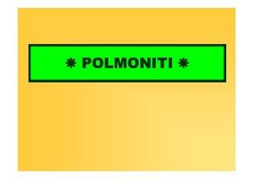 POLMONITI