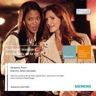 Pourquoi manquer les décibels de la vie ? - Siemens Hearing ...