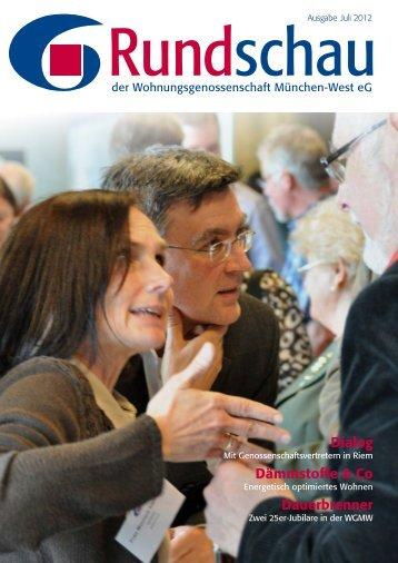 Titelthema - Wohnungsgenossenschaft München-West