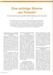 Frauensolidarität 4/2011 - Arbeitsgruppe für verfolgte ...