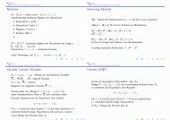 Notation Hamming-Abstand Variable, Literale, Klauseln Formeln ...