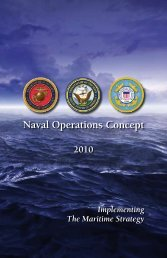Naval Operations Concept 2010 (NOC 10) - U.S. Navy