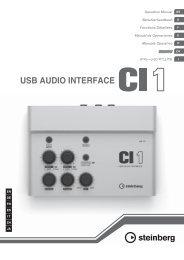 CI1 Operation Manual - zZounds.com
