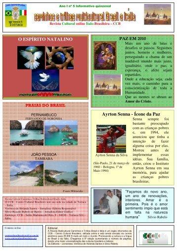 Revista_5_Ano_I_ Dezembro 2009 - Revista Multicultural Brasil ...