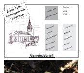 Evang.-Luth. Kirchengemeinde Lonnerstadt - Dekanat Bamberg