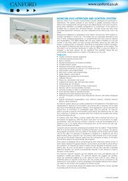 sonicom 2000 intercom and control system - Canford Audio