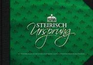"""das """"grüne Gold"""" der Steiermark - Steirischursprung"""