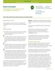 Guide d'inscription - Ontario College of Social Workers and Social ...