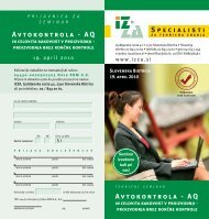 Prijavnica na seminar (PDF, 180KB) - Strojnistvo.com