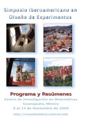Programa - Estadística e Investigación Operativa, UCLM