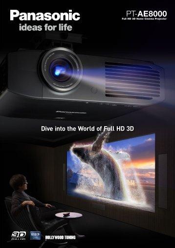 Projector Brochure - Panasonic FTP