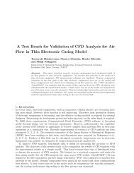Evaluation of Accuracy of CFD Analysis for Air Flows in a Thin ...